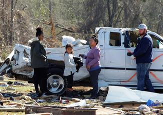 Tornadoes ravage Georgia