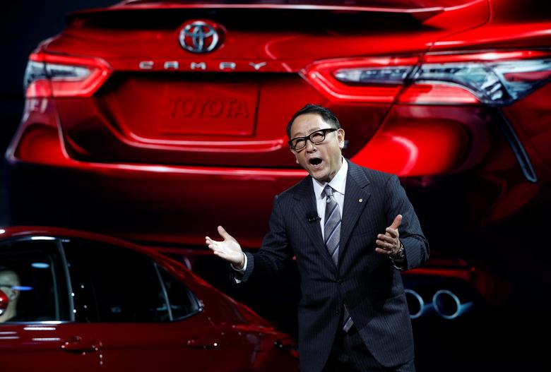 Under u s pressure on trade japan scrambles ahead of for Toyota motor company usa