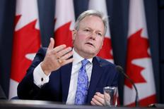 Bank of Canada Governor Stephen Poloz speaks during a news conference in Ottawa, Ontario, Canada, January 18, 2017. REUTERS/Chris Wattie