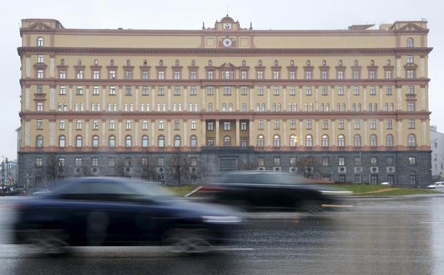 2月2日、米大統領選干渉疑惑を巡り、ロシア連邦保安局(FSB、写真)に科していた制裁について、米財務省は2日、限定的な例外を設けた。2015年11月モスクワで撮影(2017年 ロイター/Sergei Karpukhin)