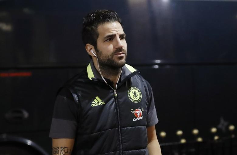 Britain Football Soccer - Sunderland v Chelsea - Premier League - The Stadium of Light - 14/12/16 Chelsea's Cesc Fabregas arrives for the match Action Images via Reuters /  Lee Smith Livepic