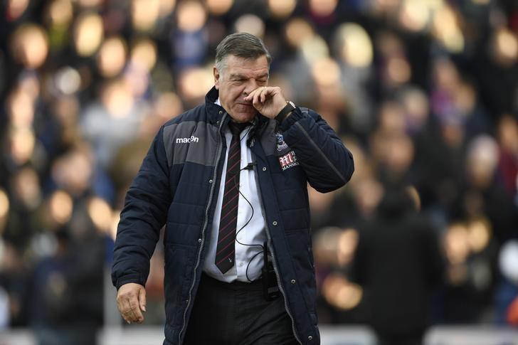 Britain Football Soccer - Crystal Palace v Sunderland - Premier League - Selhurst Park - 4/2/17 Crystal Palace manager Sam Allardyce    Action Images via Reuters / Tony O'Brien Livepic