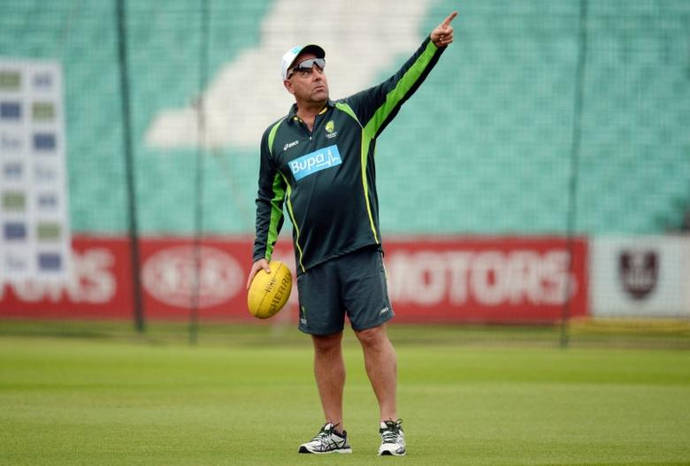 Cricket - Australia Nets - Kia Oval - 18/8/15Australia coach Darren Lehmann during the training sessionAction Images via Reuters / Philip Brown