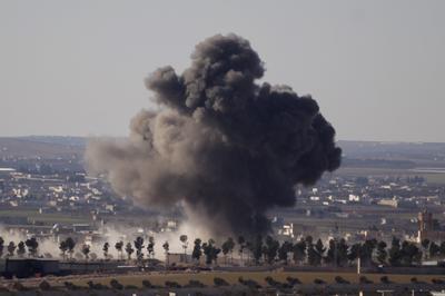 Islamic State encircled in Syria's al-Bab
