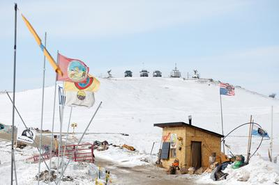 Inside the Dakota pipeline protest camp