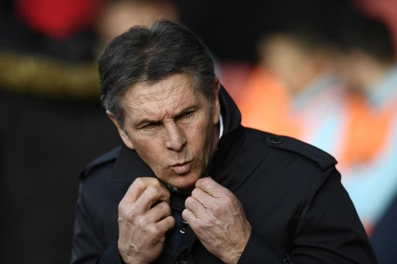 Britain Football Soccer - Southampton v West Ham United - Premier League - St Mary's Stadium - 4/2/17 Southampton manager Claude Puel  Reuters / Dylan Martinez Livepic
