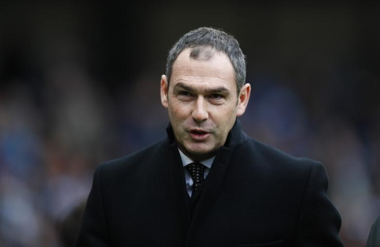 Britain Soccer Football - Manchester City v Swansea City - Premier League - Etihad Stadium - 5/2/17 Swansea City manager Paul Clement before the match  Action Images via Reuters / Jason Cairnduff Livepic