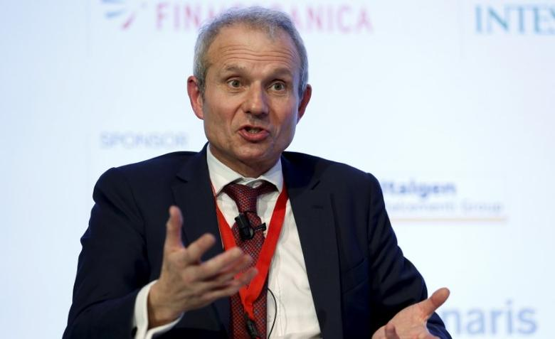 Britain's Minister for Europe David Lidington speaks during the ''Rome 2015 MED, Mediterranean dialogues'' forum in Rome, Italy, in this file photo dated December 10, 2015. REUTERS/Remo Casilli