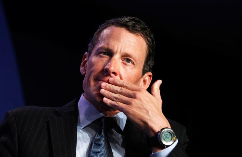 File Photo: Lance Armstrong takes part in a special session regarding cancer in the developing world during the Clinton Global Initiative in New York September 22, 2010.  REUTERS/Lucas Jackson/File Photo