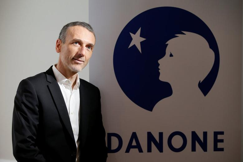 Emmanuel Faber, Chief Executive Officer of French food group Danone, poses before a news conference to present the company's 2016 annual results in Paris, France, February 15, 2017. REUTERS/Charles Platiau
