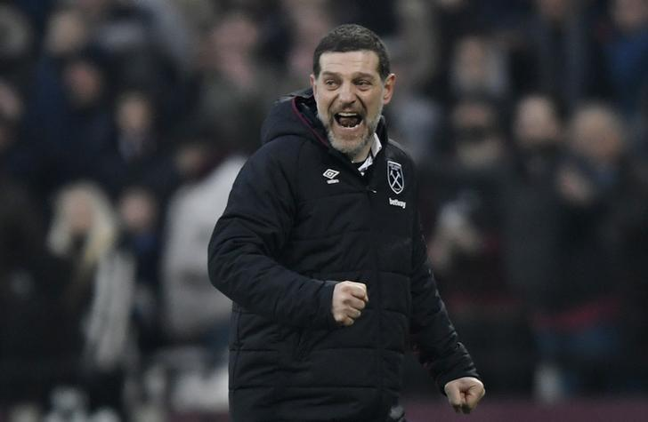 Britain Soccer Football - West Ham United v West Bromwich Albion - Premier League - London Stadium - 11/2/17 West Ham United manager Slaven Bilic  Action Images via Reuters / Tony O'Brien Livepic