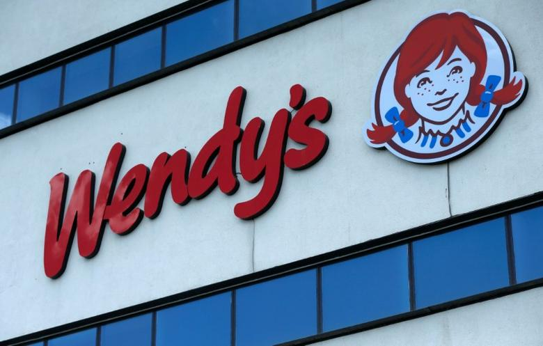 The logo of Wendy's is on display in Tbilisi, Georgia, July 13, 2016. REUTERS/David Mdzinarishvili/File Photo