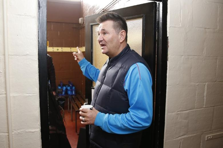 Britain Football Soccer - Sutton United Media Day - FA Cup Fifth Round Preview - The Borough Sports Ground - 16/2/17 Sutton United manager Paul Doswell during the media day Action Images via Reuters / Matthew Childs Livepic