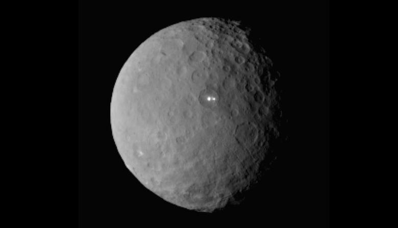 The dwarf planet Ceres taken by NASA's Dawn spacecraft on February 19, 2015 from a distance of nearly 29,000 miles is shown in this handout photo provided by NASA March 2, 2015.  REUTERS/NASA/Handout via Reuters