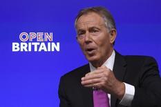 Ex-premiê britânico Tony Blair faz discursso pró-Europa, em Londres. 17/02/2017. REUTERS/Toby Melville