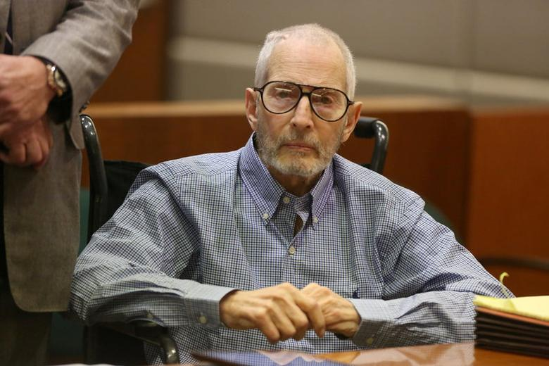 Robert Durst attends a motions hearing on capital murder charges in the death of Susan Berman in Los Angeles, California, U.S. January 6, 2017. REUTERS/Mark Boster/Pool/File Photo