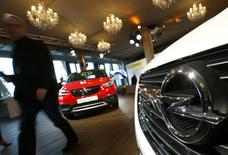 Opel presents their new Crossland X SUV in Frankfurt, Germany February 20, 2017.  REUTERS/Ralph Orlowski