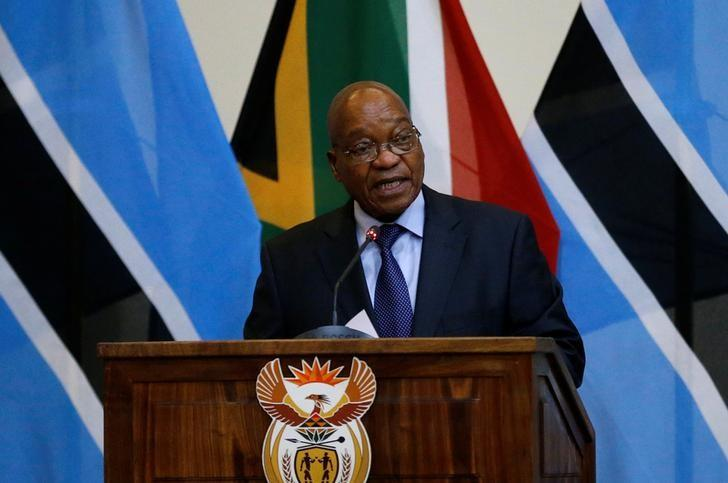 Image result for South African President Zuma condemns violence against foreigners