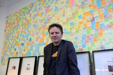 FILE PHOTO: Matthew Prince, chief executive at an internet start-up company called CloudFlare, poses in his office in San Francisco December 10, 2012.   REUTERS/Gerry Shih/File Photo