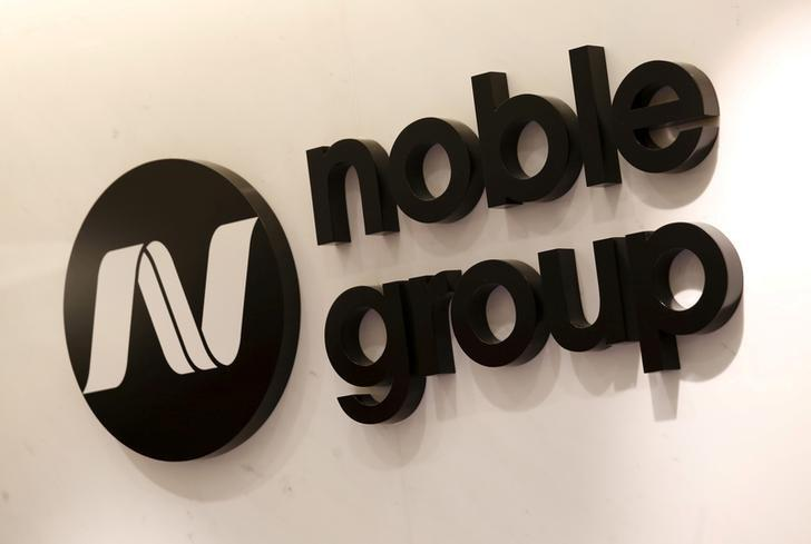 The company logo of Noble Group is displayed at its office in Hong Kong, China January 22, 2016. REUTERS/Bobby Yip/File Photo