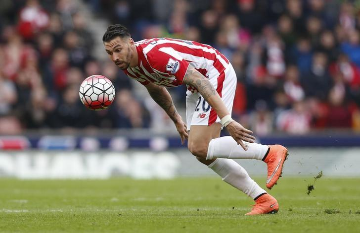 Football Soccer - Stoke City v Southampton - Barclays Premier League - Britannia Stadium - 12/3/16Stoke's Geoff Cameron in actionAction Images via Reuters / Ed SykesLivepic