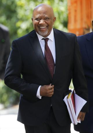 South Africa's Deputy Finance Minister Mcebisi Jonas arrives for Finance Minister Pravin Gordhan's 2016 Budget address in Cape Town in this February 24, 2016 file photo. REUTERS/Mike Hutchings/Files