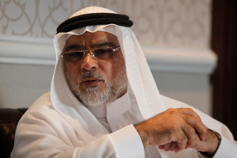Saudi Arabia's ambassador to Indonesia Osama Mohammad Abdullah Alshuaibi gestures during an interview with Reuters in Jakarta, Indonesia, February 28, 2017. REUTERS/Fatima El-Kareem