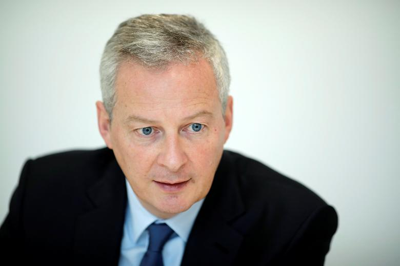 Bruno Le Maire speaks during an interview with Reuters in Paris, France, February 16, 2017. REUTERS/Benoit Tessier