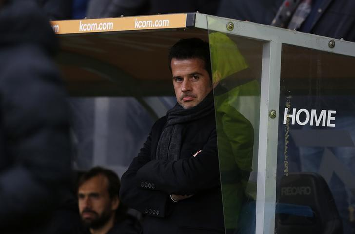 Britain Football Soccer - Hull City v Burnley - Premier League - The Kingston Communications Stadium - 16/17 - 25/2/17 Hull City manager Marco Silva Action Images via Reuters / Ed Sykes/Files