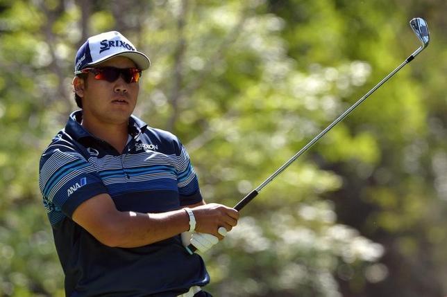 3月3日、男子ゴルフの世界選手権シリーズ、メキシコ選手権第2ラウンド、41位から出た松山英樹は72で回り、通算2オーバーの144で46位タイに後退した(2017年 ロイター/Orlando Ramirez-USA TODAY Sports)
