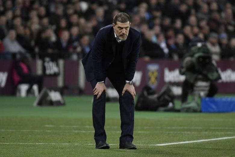 Britain Football Soccer - West Ham United v Chelsea - Premier League - London Stadium - 6/3/17 West Ham United manager Slaven Bilic  Reuters / Toby Melville Livepic