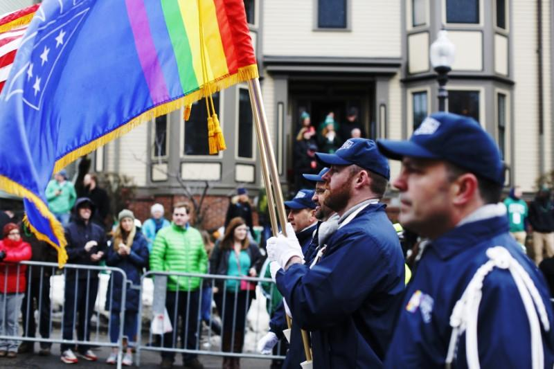 Boston gay vets group says booted from St. Patrick's Day parade
