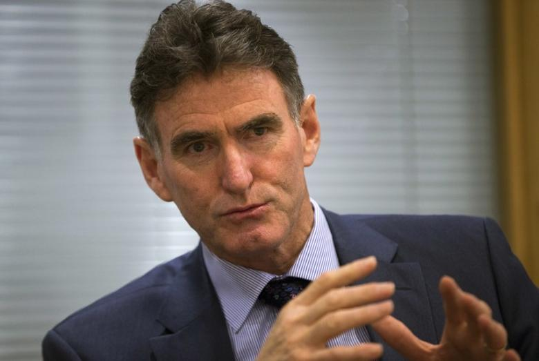 Royal Bank of Scotland chief executive Ross McEwan speaks during an interview with Reuters at Canary Wharf in London, Britain July 7, 2015.  REUTERS/Neil Hall