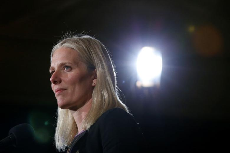 Canada's Environment Minister Catherine McKenna takes part in a news conference during the First Ministers' meeting in Ottawa, Ontario, Canada, December 9, 2016. REUTERS/Chris Wattie