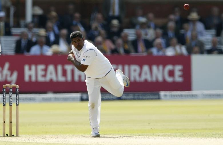 Sri Lankas Rangana Herath in action Action Images via Reuters / Andrew Boyers