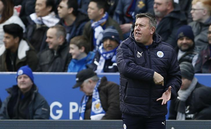 Leicester City v Hull City - Premier League - King Power Stadium - 4/3/17 Leicester City caretaker manager Craig Shakespeare  Action Images via Reuters / Matthew Childs Livepic