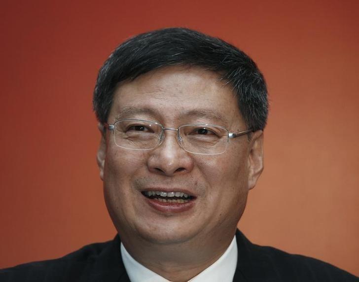 图为原中国银行行长李礼辉2010年出席记者会的资料图片。REUTERS/Bobby Yip
