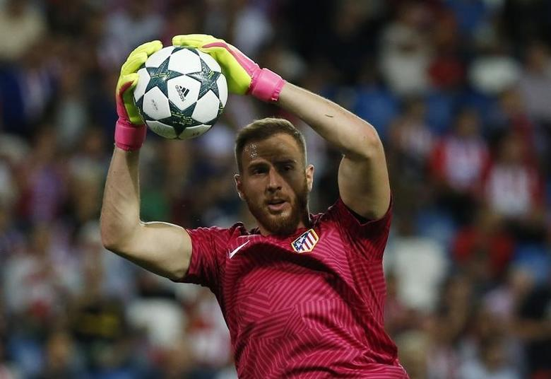 Soccer Football - Atletico Madrid v Bayern Munich - UEFA Champions League Group Stage - Group D - Vicente Calderon, Madrid, Spain - 28/9/16Atletico Madrid's Jan Oblak before the matchReuters / Sergio PerezLivepicEDITORIAL USE ONLY.