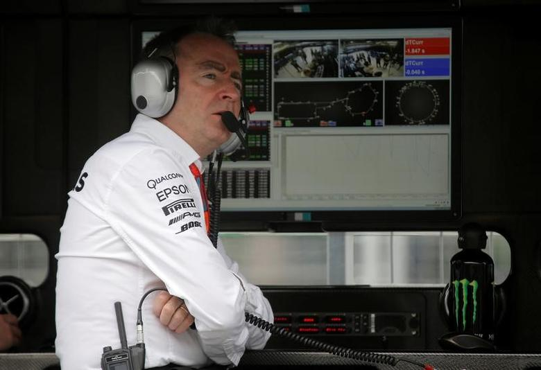 Formula One - Grand Prix of Europe - Baku, Azerbaijan - 17/6/16 - Mercedes AMG Formula One technical chief Paddy Lowe looks on during the first practice session.REUTERS/Maxim Shemetov/File Photo