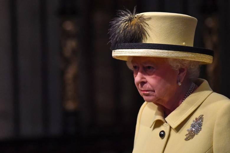 Britain's Queen Elizabeth II attends a Commonwealth Day Service at Westminster Abbey in  London, March 13, 2017. REUTERS/Ben Stansall