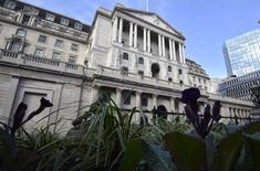 بنك انجلترا في وسط لندن يوم 14 فبراير شباط 2017. تصوير: هانا ماكاي - رويترز.