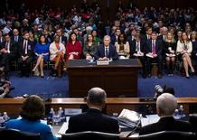 Neil Gorsuch em audiência no Congresso dos EUA 20/3/2017     REUTERS/Al Drago/Divulgação
