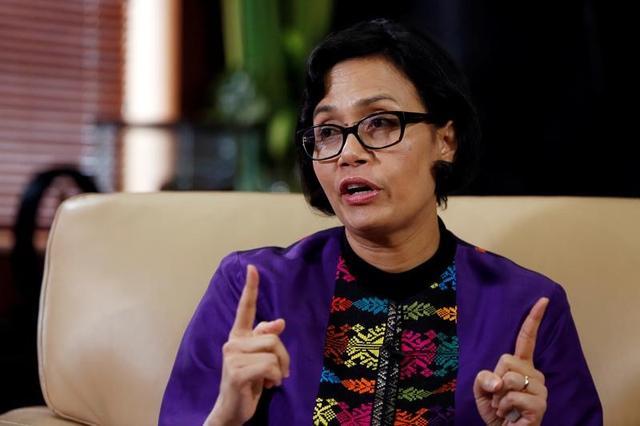 3月20日、インドネシアのインドラワティ財務相(写真)は、ドイツで17─18日に開かれた20カ国・地域(G20)財務相・中央銀行総裁会議について、主要国間の政策協調を巡り不透明感をもたらしたと指摘した。写真はジャカルタで昨年8月撮影(2017年 ロイター/Beawiharta)