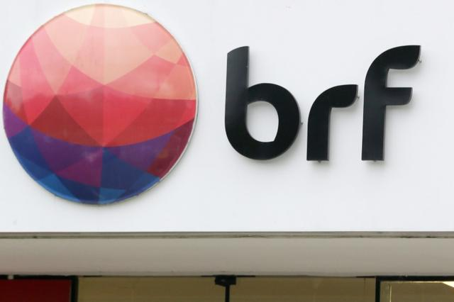A meatpacking company BRF SA's logo is pictured in Sao Paulo, Brazil March 17, 2017. REUTERS/Paulo Whitaker
