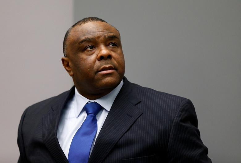 Jean-Pierre Bemba Gombo of the Democratic Republic of the Congo sits in the courtroom of the International Criminal Court (ICC) in The Hague, June 21, 2016. REUTERS/Michael Kooren/Files