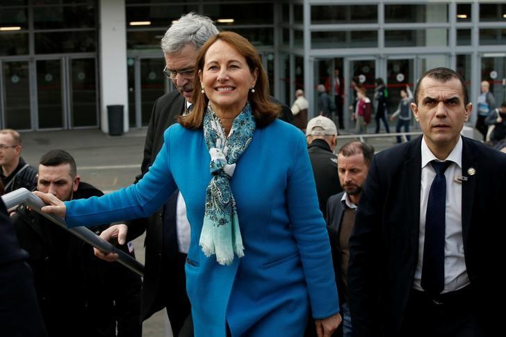 France's Minister for Ecology, Sustainable Development and Energy Segolene Royal visits the International Agricultural Show in Paris, France February 26, 2017. REUTERS/Gonzalo Fuentes