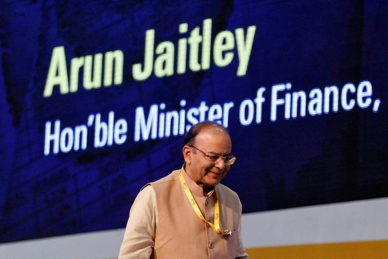 Indian Finance Minister Arun Jaitley attends a seminar on the Goods and Services Tax (GST) issues during the Vibrant Gujarat investor summit in Gandhinagar, India January 11, 2017. REUTERS/Amit Dave