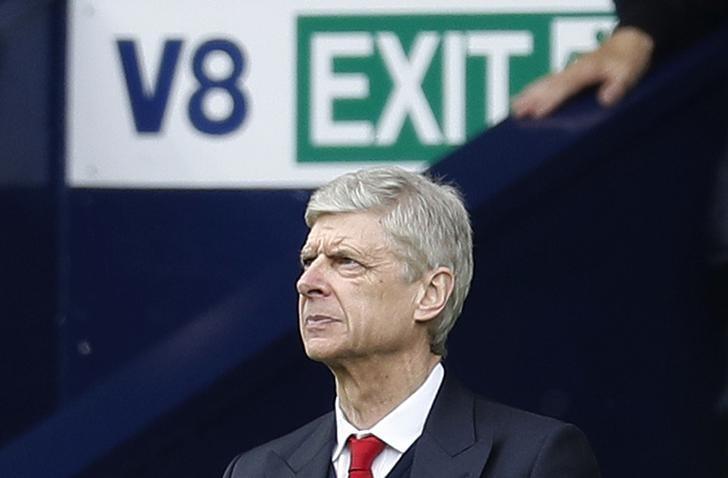 Britain Football Soccer - West Bromwich Albion v Arsenal - Premier League - The Hawthorns - 18/3/17 Arsenal manager Arsene Wenger  Reuters / Darren Staples Livepic