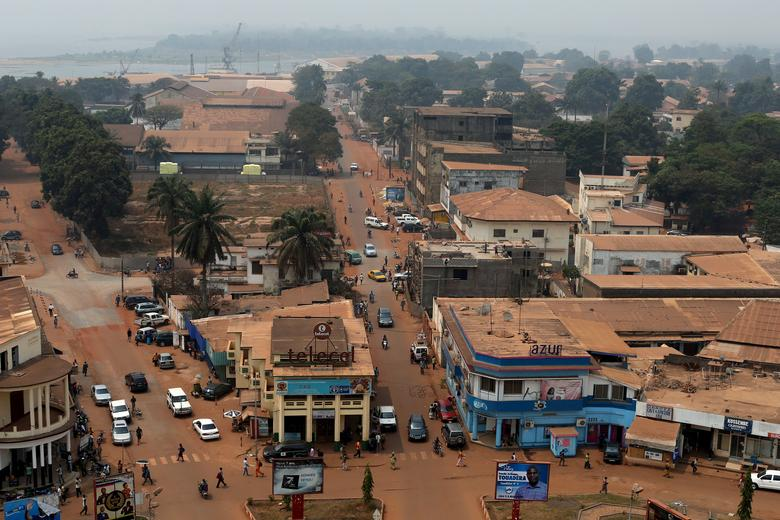 FILE PHOTO: A general view shows part of the capital Bangui, Central African Republic, February 16, 2016. REUTERS/Siegfried Modola/File Photo/File Photo