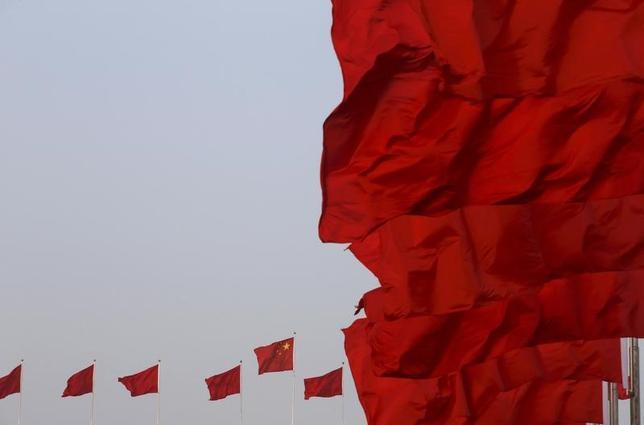3月31日、中国国家統計局が発表した3月の製造業購買担当者景気指数(PMI)は51.8で、前月の51.6から上昇し、2012年4月以来約5年ぶりの高水準を記録した。写真は北京で昨年3月撮影(2017年 ロイター/Kim Kyung Hoon)
